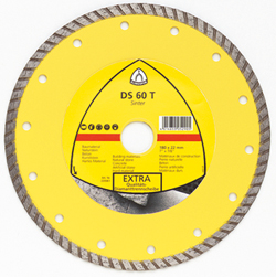 Diamond Cutting Blade - Concrete, etc. - 115 To 230mm Diameter - 7mm Segment Hei