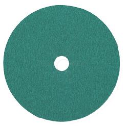 Fiberscheiben - Rundloch-Ø 16-22mm - Edelst. -  K24 bis K120 - CS570