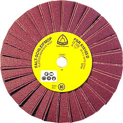 Faltschleifmop - für hohe Eintauchtiefen - K40 bis K120 - FSR 618