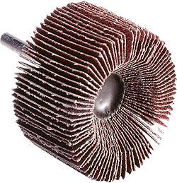 Kleinschleifmob - für Metall - Korund KMT 614 - Schaft-Ø 6mm - K60 bis K180