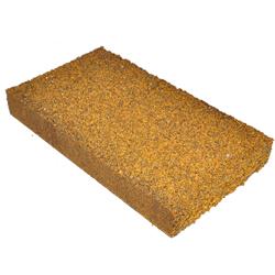 Restposten - Handklotz SFK655 - zum Reinigen, Polieren & Mattieren - LxBxH 150x80x20 mm - Korn 30 - für alle Materialien