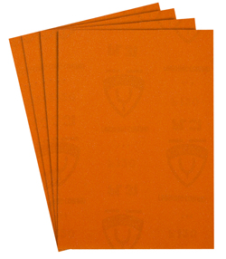 Carta vetrata priva di perforazione - legno standard, vernice, spatola, vernice - K 40 - 400 - Prezzo per confezione