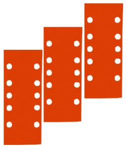Schleifpapier Bogen Lochform GL 1 - Holz, Farbe, Lack, Spachtel - K40 bis K240 -