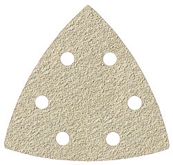 Triangle plate PS33BK - velour-backed  - GLS 15 - paints,varnishes, fillers