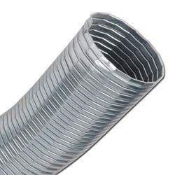 Abgasschlauch - verzinkt - bis 400 °C - Ø 20-300mm - Dichtung Glasfaden - ableitfähig