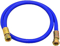 HD-Farbspritzschlauch DN6 - Innen-Ø 6,4 mm - Außen-Ø 13,5 mm - 270 bar - Anschlüsse 1/4″ -  Preis per Stück