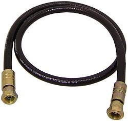 """Tubo alta pressione per verniciatura - DN13 - 430 bar - su entrambi i lati dado per raccordi 1/2""""NPSM per impianti a spruzzo WIWA e GRACO"""