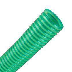 PVC sug- och tryckslang - inner-Ø 13-100 mm - för vätska - grön - rulle