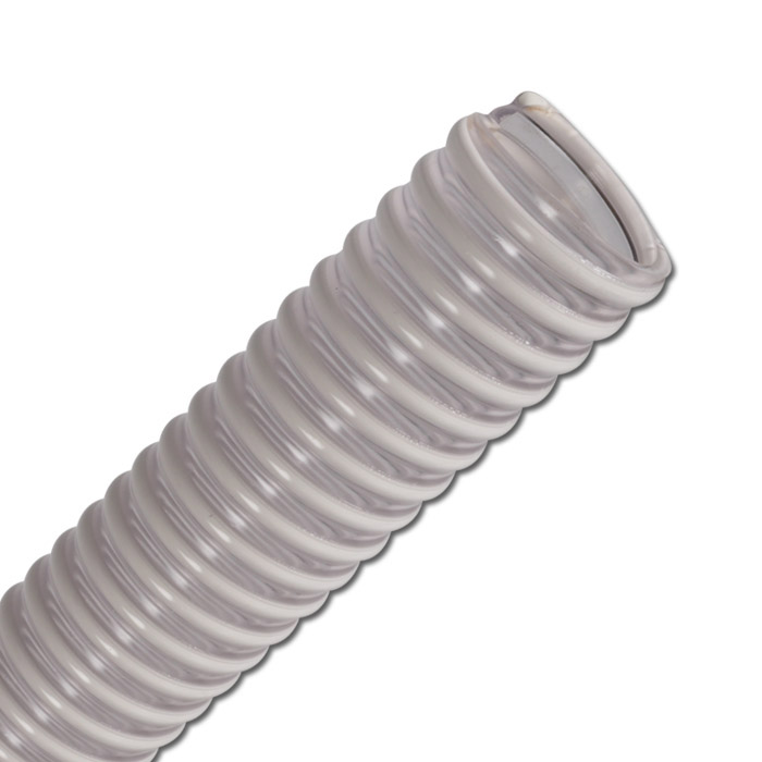PVC-Saug- und Förderschlauch - antistatisch - Innen-Ø 30 bis 150 mm - Außen-Ø 36 bis 163 mm - Preis per Rolle