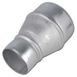 Schlauchverbinder/-reduzierung CONNNECT 270-271 - verzinktes Blech - Innen-Ø 50 bis 500 mm - Gesamtlänge - 90 bis 335 mm