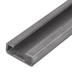 C-Tragschiene für Rohrschellen - leichte Baureihe - Länge 1 oder 2 m - Höhe 11 bis 30 mm