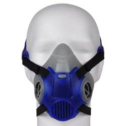 Dubbelfilter Halvmask Dräger X-plore 3300 - EN 140 - blå