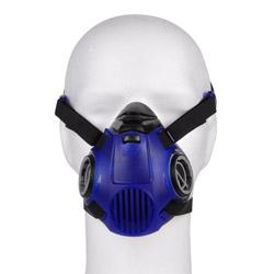 Halvmask Dräger X-plore 3500 - två filter - enligt EN 140 - blå