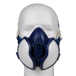 "Doppelfilter Halbmaske ""3M"" - einweg"