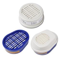 Filter for DRÄGER X-Plore double filter respirator mask - for bajonett connection