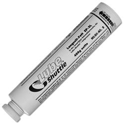 Lube-Shuttle grease cartridges, empty