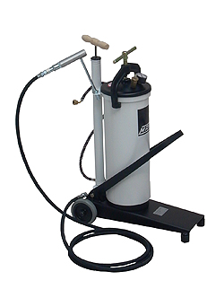 Foot lever press FP-08-heavy duty - as a mobile pressure vessels