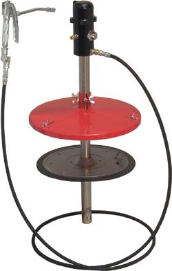 Högtrycks smörjapparat - pneumatisk - stationär
