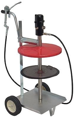 Högtryck-smörjapparat - pneumatisk - mobil