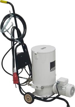 Fettpress - med elektrisk drift -fullvolym - 15 kg