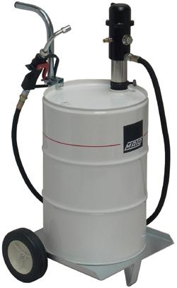 pneuMATO-oljebränslepump, körbar