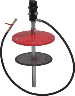 Fettpump - pneumatisk - stationär
