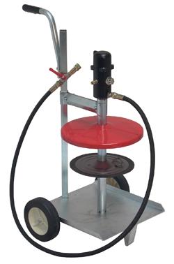 Fettpump - pneumatisk - mobil