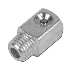 Trichter-Schmiernippel - 90° - Stahl verz. - Typ D - DIN 3405 C
