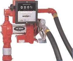Bränslepump FRDL - elektrisk - DC 12 och 24 V - 85 l/min