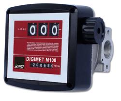 Durchflussmengenzähler DIGIMET M100 für Pflanzenöl