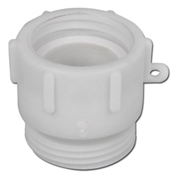 Adapter - Plastic - S60 x 6 - On RD 65x1 / 6 Male (Milk Thread) - For Protective