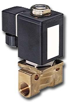 "2/2-way solenoid valve 25 bar - G1/4-1/2 ""normally open / closed."