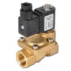 2/2-Wege Magnetventil - Wasser Öl Druckluft - 0,5 bis 16 bar - stromlos geschlossen