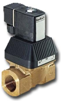 Solenoid Valve - 2/2-way - water hydraulic oil oils without additives - 0 to 10 bar -