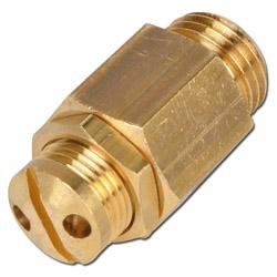 Mini Sicherheitsventil - nicht bauteilgeprüft - Druckluft MS 0,5-60bar