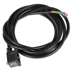 Gerätestecker mit Kabel - Typ GSBI0 Bauform B - Industrie mit Leuchtdiode
