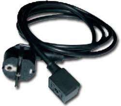Gerätestecker-Typ GSBI nach DIN 43650 Bauform B-Industrie