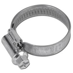Schneckengewinde Schlauchschelle - verzinkt W1 - Spannbereich 8 bis 320mm - DIN 3017 - Bandbreite 9