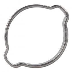 2-ear hose clamp Ø5 to ø40 mm Material - Stainless Steel