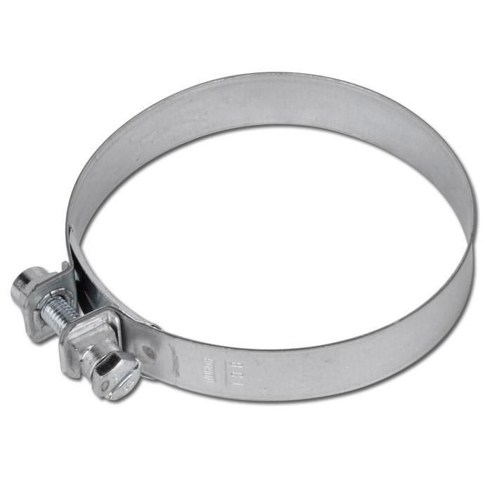 Spannbackenschelle NORMACLAMP® S - Stahl verzinkt - Nenndurchmesser 31 bis 118 mm - Bandbreite 20 mm