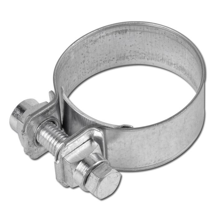 Spannbackenschelle NORMACLAMP® S - Stahl verzinkt - Nenndurchmesser 51 bis 120 mm - Breite 25 mm