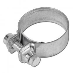 Hose clamp jaws 25 mm wide - Steel 51mm to 120mm DIN 3017