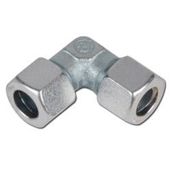 90°-Verschraubung - Stahl - Ausführung LL - Schneidringverschraubung