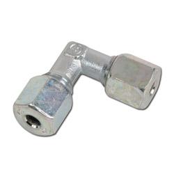 90°-Verschraubung - Stahl - Ausführung S - Schneidringverschraubung