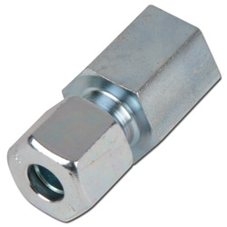 Female stud fitting - steel - inch (BSP) - Type L - straight