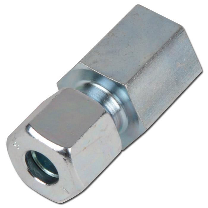 Aufschraubverschraubung - Stahl - zöllig (BSP) - Ausführung L - gerade