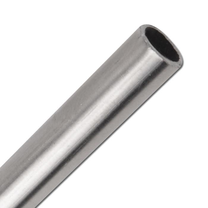 Präzisionsstahlrohr - Edelstahl 1.4301 - Rohr-Ø 4 bis 22 mm - Wandstärke 1 mm - VE 6 m - Preis per m