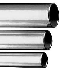 Präzisionsstahlrohr - Edelstahl 1.4301 - Rohr-Ø 20 bis 25 mm - Wandstärke 2,5 mm - VE 6 m - Preis per m