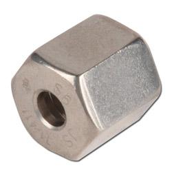 Überwurfmutter - VA - metrisch - Ausführung S