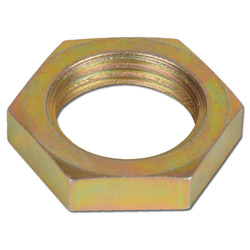 Gegenmutter für Schottverschraubungen - Stahl - metrisch - Ausführung S
